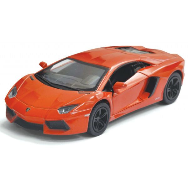 Kinsmart Lamborghini Aventador LP700-4 1/38 Orange - Hobbytoys - 1