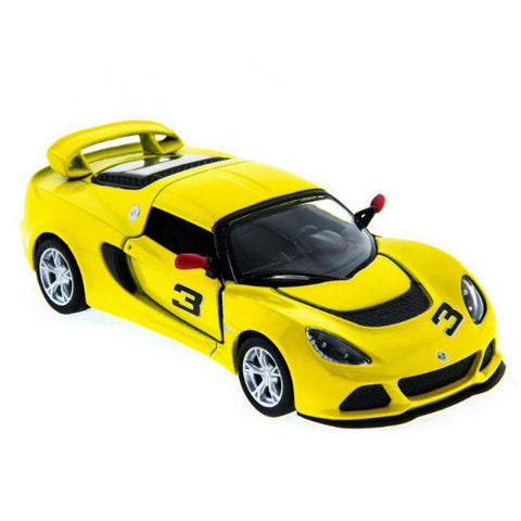 Kinsmart 2012 Lotus Exige S 1/32 Yellow - Hobbytoys - 1