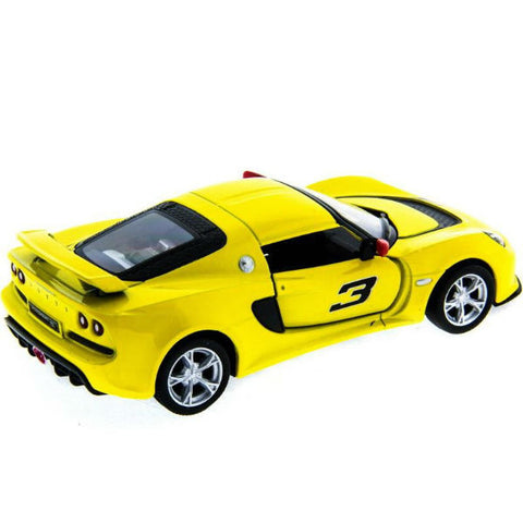 Kinsmart 2012 Lotus Exige S 1/32 Yellow - Hobbytoys - 2