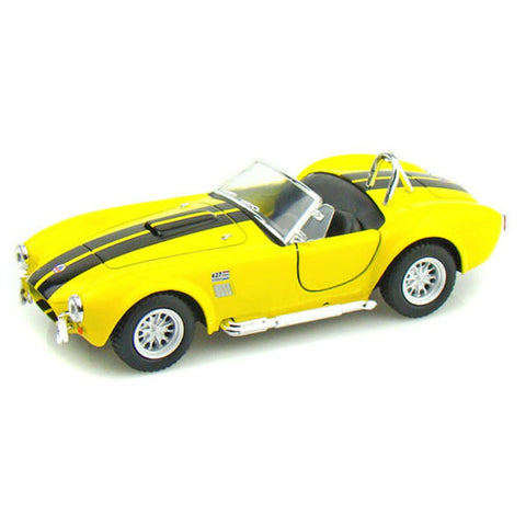 Kinsmart 1965 Shelby Cobra 427 S/C 1/32 Yellow - Hobbytoys - 1