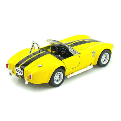 Kinsmart 1965 Shelby Cobra 427 S/C 1/32 Yellow - Hobbytoys - 2