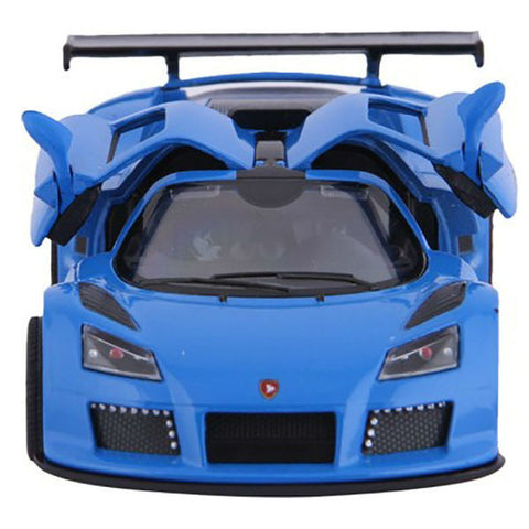 Kinsmart 2010 Gumpert Apollo Sport 1/36 Blue - Hobbytoys - 2