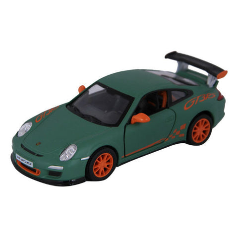 Kinsmart 2010 Porsche 911 GT3 RS 1/36 Matt Green - Hobbytoys - 1