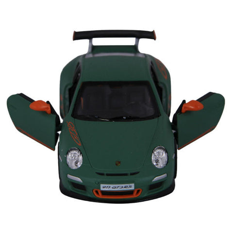 Kinsmart 2010 Porsche 911 GT3 RS 1/36 Matt Green - Hobbytoys - 2