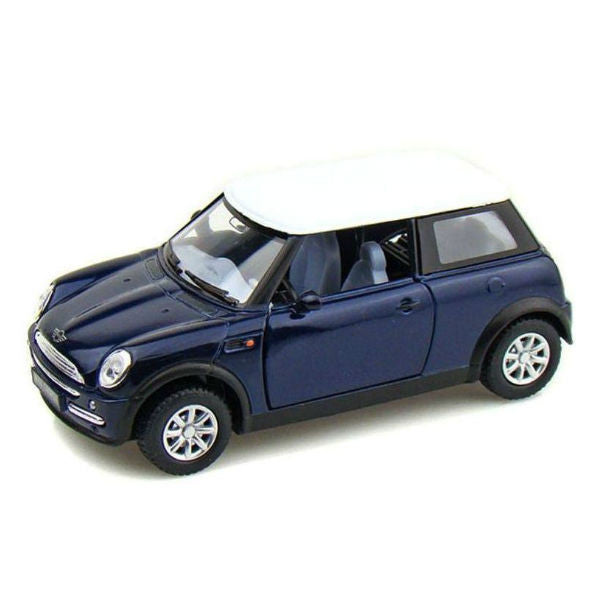 Kinsmart Mini Cooper 1/28 Blue - Hobbytoys - 1