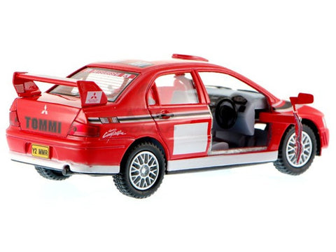 Kinsmart mitsubishi Lancer Evolution Street fighter 1/36 Red