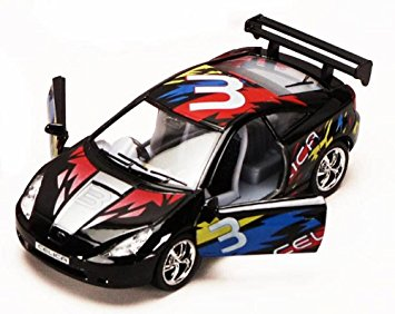 Kinsmart Toyota Celisa Street fighter 1/36 black