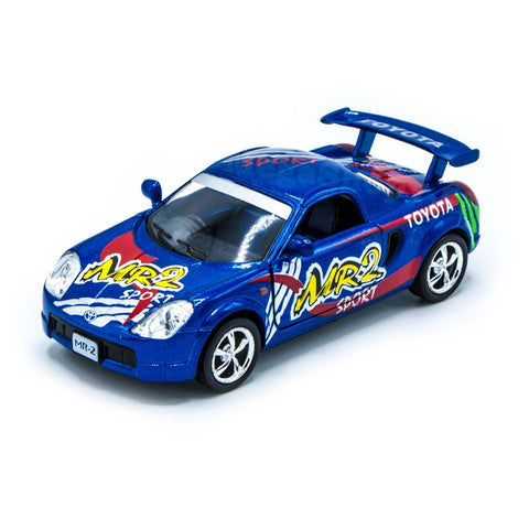 Kinsmart Toyota MR2 Sports Street fighter 1/36 blue