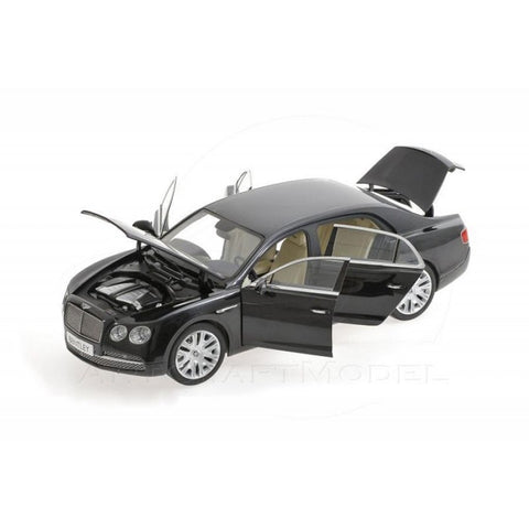 Kyosho Bentley Flying Spur W12 ONYX Black 1/18