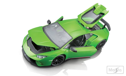 Maisto Lamborghini Huracán Performante car 1/18 Green