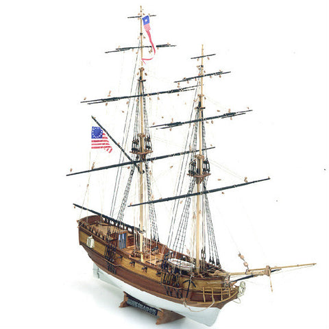 Mamoli Blue Shadow Wooden Ship Model Kit - Hobbytoys