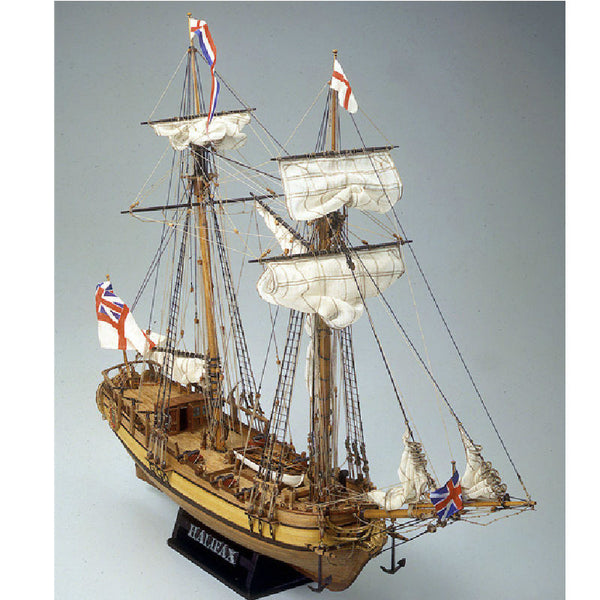 Mamoli Halifax Wooden Ship Model Kit - Hobbytoys