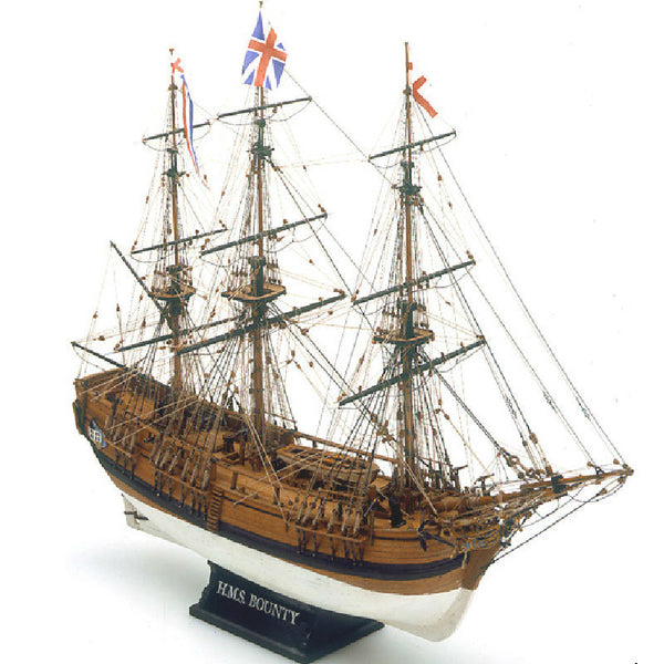 Mamoli HMS Bounty Wooden Ship Model Kit 1:64 Scale - Hobbytoys
