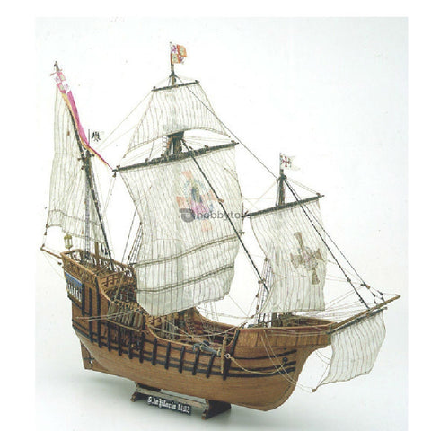 Mamoli HMS Bounty Wooden Ship Model Kit 1:100 Scale - Hobbytoys
