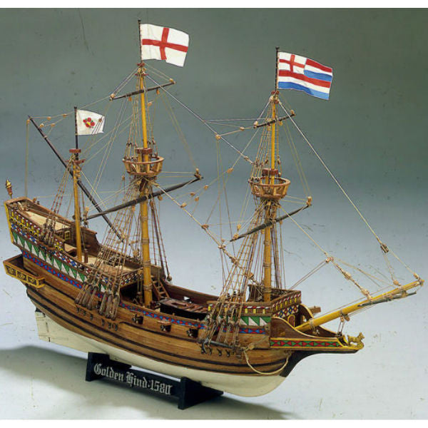 Mamoli 1:53 Golden Hind Wooden Ship Model Kit