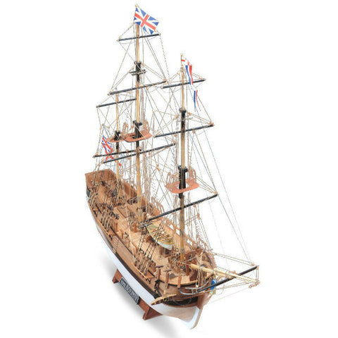 Mamoli 1:100 HMS Bounty Wooden Ship Model Kit