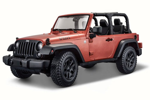 Maisto 2014 Wrangler Willys Copper 1/18