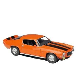 Maisto 1971 Chevrolet Camaro Orange 1/18