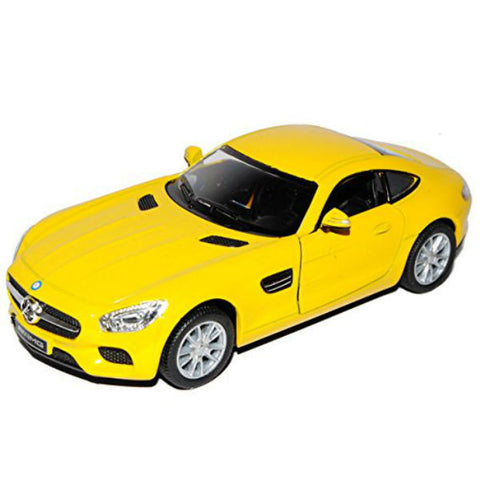Kinsmart Mercedes AMG GT 1/36 Yellow - Hobbytoys - 1