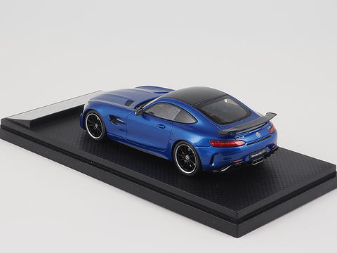 Almost Real Mercedes Benz AMG GT R - 2017 - Metal blue 1/43