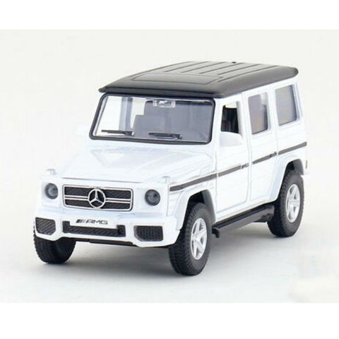 RMZ City Mercedes Benz G63 AMG W463 White - Hobbytoys - 1