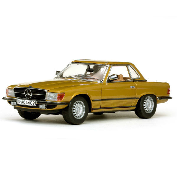 Sun Star 1977 Mercedes-Benz 350 Sl Hard Top Coupe 1/18 - Hobbytoys - 1