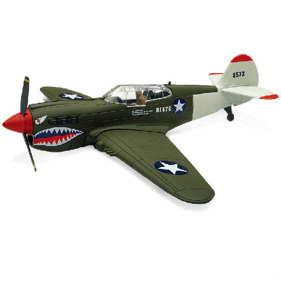 New-Ray Curtiss P-40 Warhawk Aeroplane Model Aviation Collectible - Hobbytoys