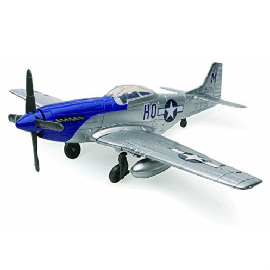 New-Ray P-51 Mustang Aeroplane Model Aviation Collectible - Hobbytoys