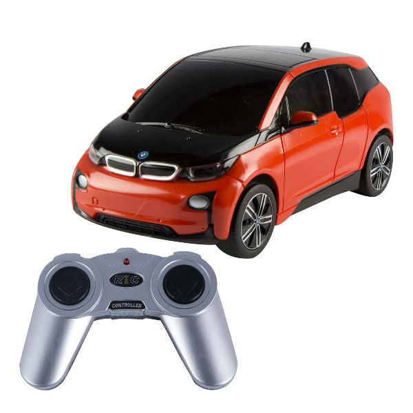 Rastar BMW i3 Orange 1/24 Remote Control Car - Hobbytoys