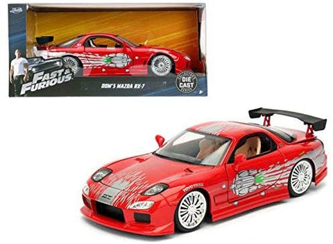 Fast & Furious 1993 Mazda RX-7 Red 1/32 by Jada