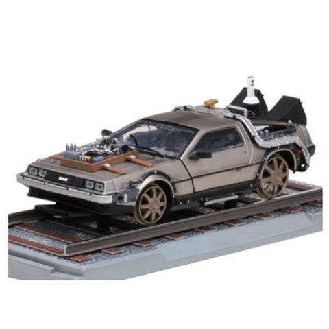Sun Star De Lorean 1/18 Diecast Model Car - Hobbytoys - 1