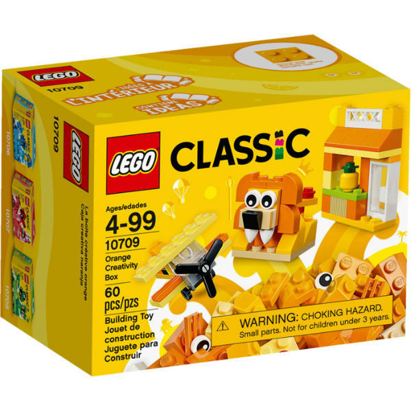 Lego Classic Orange Creativity Box