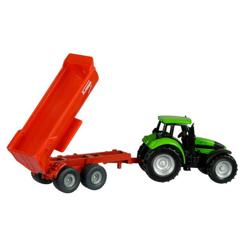 Siku Tractor with Tipping Trailer