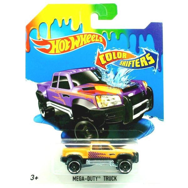 Hot Wheels Color Shifters Mega Duty Truck