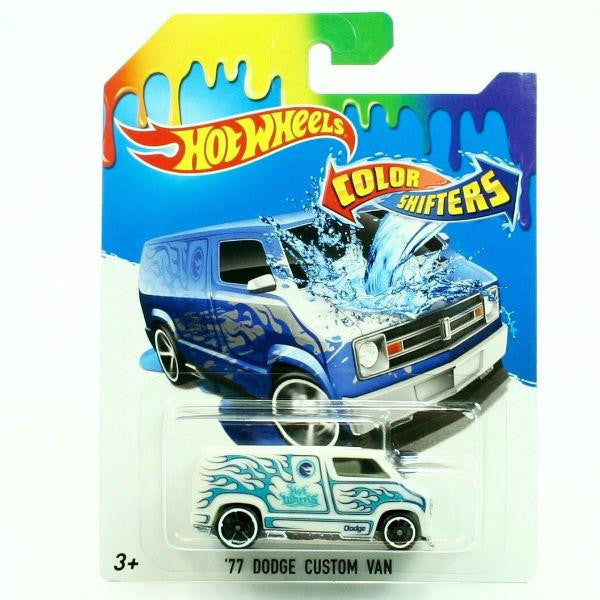 hot wheels color shifters 39 77 dodge custom van. Black Bedroom Furniture Sets. Home Design Ideas