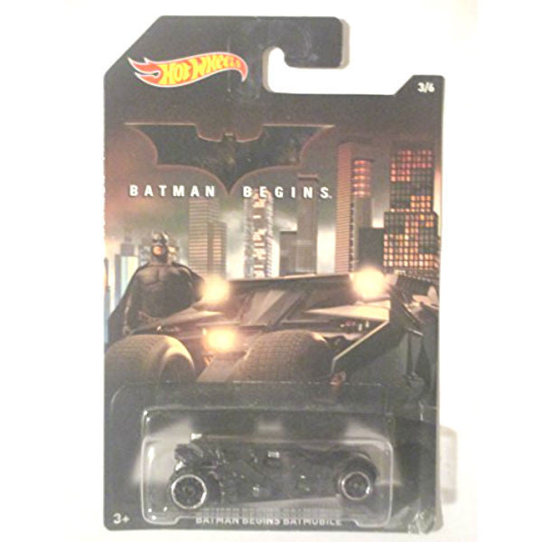 Hot Wheels Batman Begins Batmobile