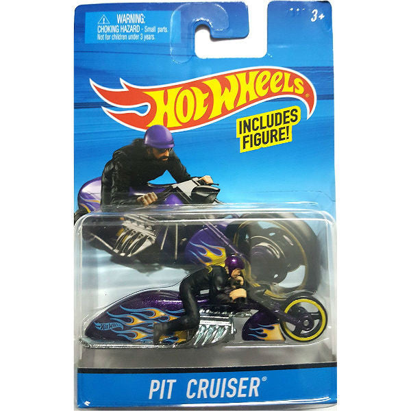 Hot Wheels Pit Cruiser Motorcycle