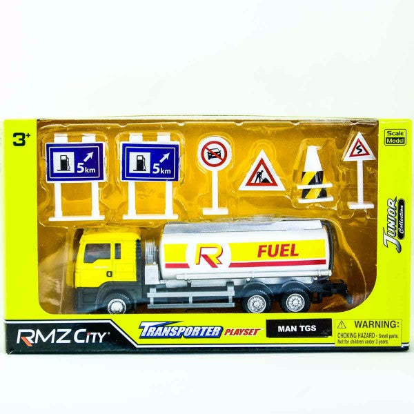 RMZ City Man TGS Oil Tanker Playset