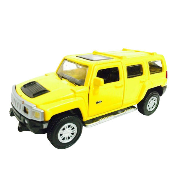 Innovador Hummer H3 1/38 Yellow - Hobbytoys - 1