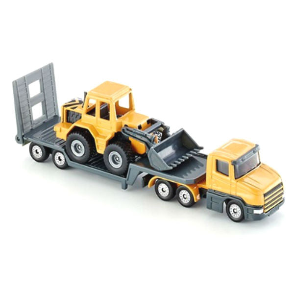 Siku Low Loader With Front Loader - Hobbytoys - 1