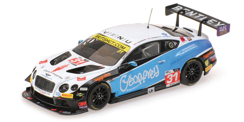 Almost Real Bentley GT3 Team Parker Racing British Gt Championship - 2016 #31 1/43