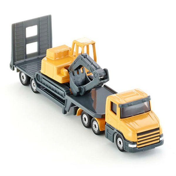 Siku Low Loader With Excavator - Hobbytoys - 1
