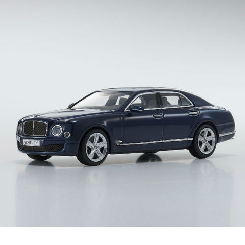 Kyosho Bentley Mulsanne Speed 1/43 Blue - Hobbytoys