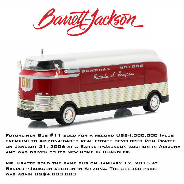 Greenlight 1950 General Motors Parade of Progress Futurliner 1/64 - Hobbytoys - 1