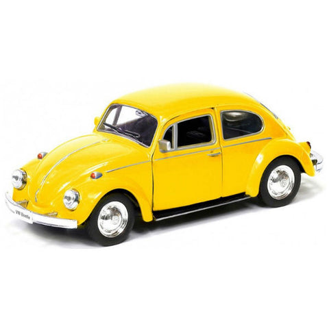 RMZ City Volkswagen Beetle Matte Yellow - Hobbytoys