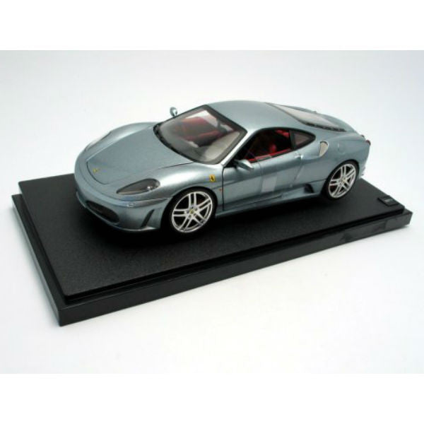 Hot Wheels Ferrari F430 Diecast Model Car - Grey - Hobbytoys
