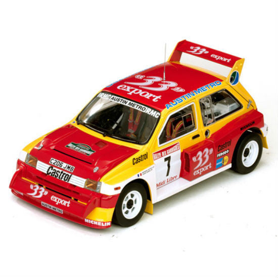 Sun Star MG  Metro 6R4 # 7 Auriol/ B.Occelli 1/18 Diecast Model Car - Hobbytoys - 1