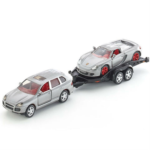 Siku Car With Trailer - Hobbytoys - 1