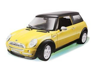 Bburago Mini Cooper 2001 1/24 Assembly Kit