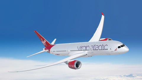 Virgin Atlantic Boeing 787 Airplane